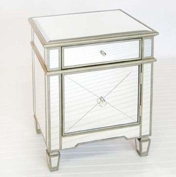 Mirrored Nightstand Tuesday Morning Woodworking Projects
