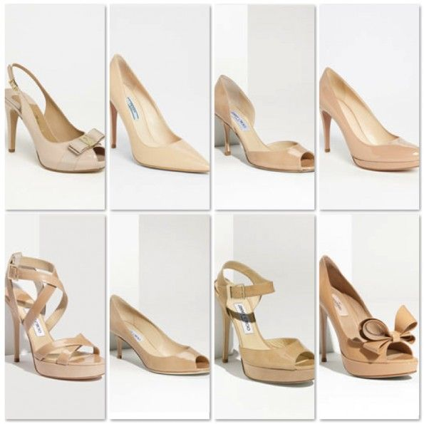 Nude Shoes... I swear I have all of these.. Mildly obsessed!