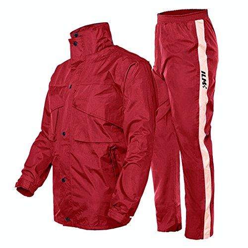 Price:$39.49 HD ILM Motorcycle Rain Suit - Two Piece Rain Gear with Jacket and Pants for Women and Men #parts #harleyparts #hdparts #sportsterparts #iron883parts #superlowparts #1200customparts #superlow1200tparts#fortyeightparts #roadsterparts
