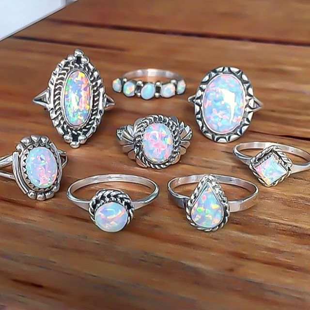 Indie and Harper beautiful opal they really deserve gold setting,brings so much more color out
