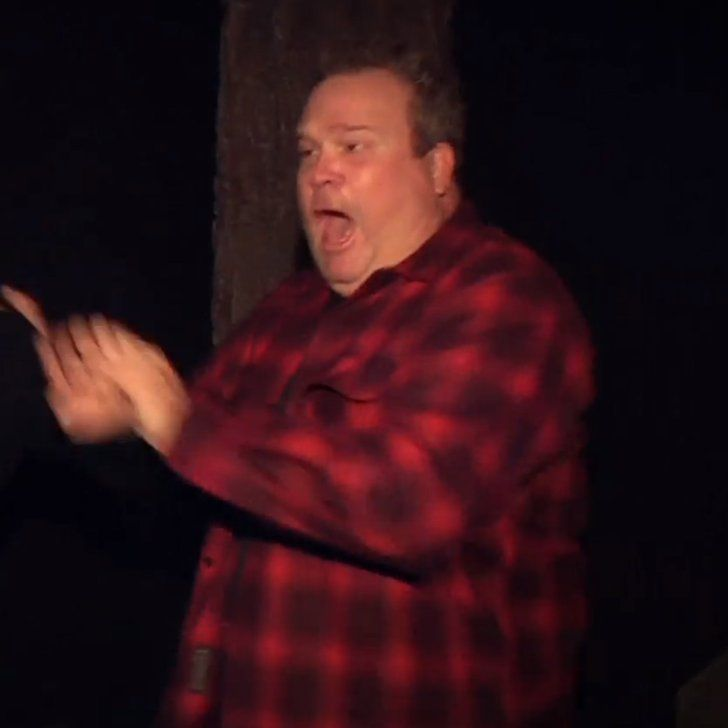 Pin for Later: Ellen DeGeneres Forces Eric Stonestreet to Go Through a Second Haunted House