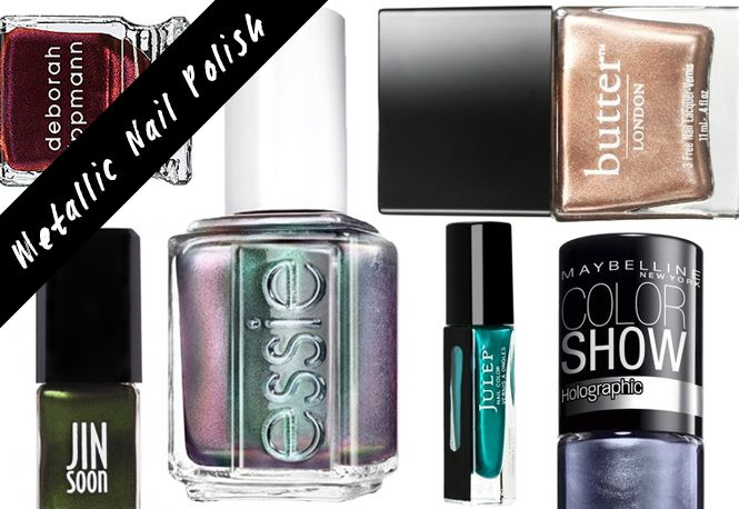 10 Metallic Nail Polishes New For Fall | Beauty High