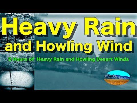 "Heavy Pouring Rain and Thunder and Wind | 2 Hours | ""Rain"" ""Rain Sounds"" ""Sleep Sounds"" - YouTube"