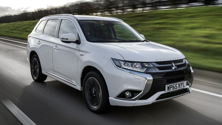 Mitsubishi Outlander PHEV | Top Gear Review