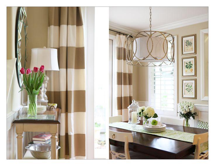Lighting and window treatments