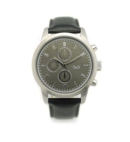 Orologio uomo D&G con cronografo originale cinturino in pelle