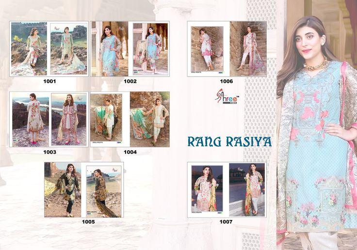 #ShreeFab Brand #RangRasiya #Pakistani #Festival #Wedding #Mehndi #PartyWear #ShalwarSuit #Suit #SalwarKameez #online #buy best rate here only.(Cat :- mb-rangrasiya)