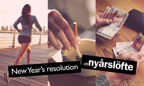Ett nyårslöfte