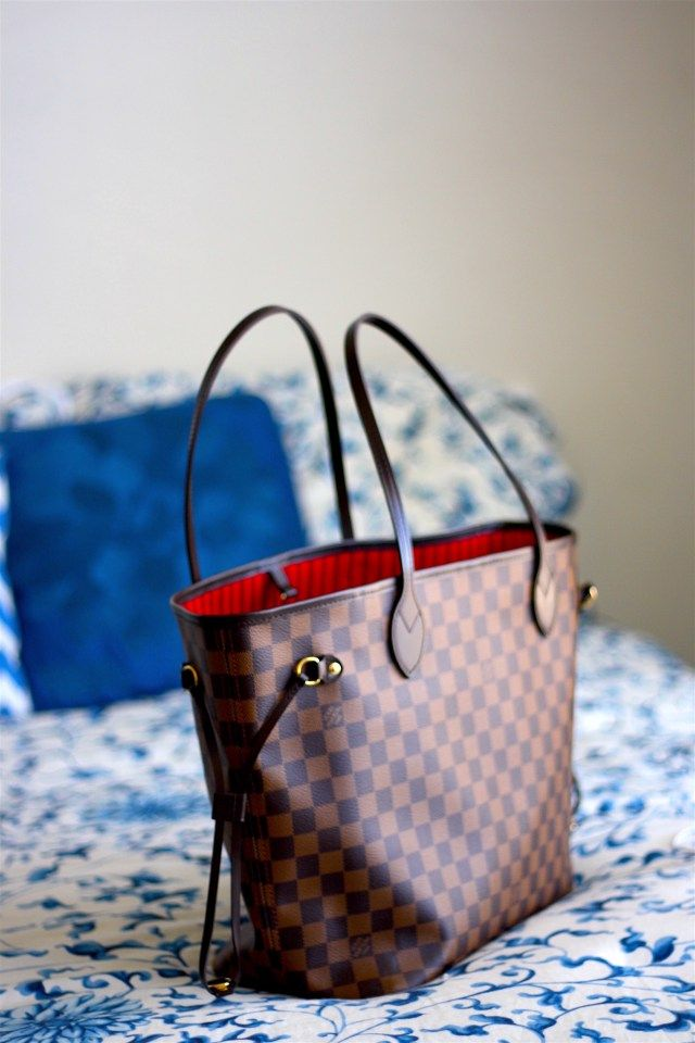 fb5dd964c2 Louis Vuitton Neverfull MM damier