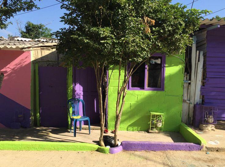 El color elemento urbanizador