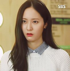 1k gifs f(x) Krystal krystal jung heirs inheritors Lee Bona shes so cute lmao ill listen too her whine all day now i wait for subs