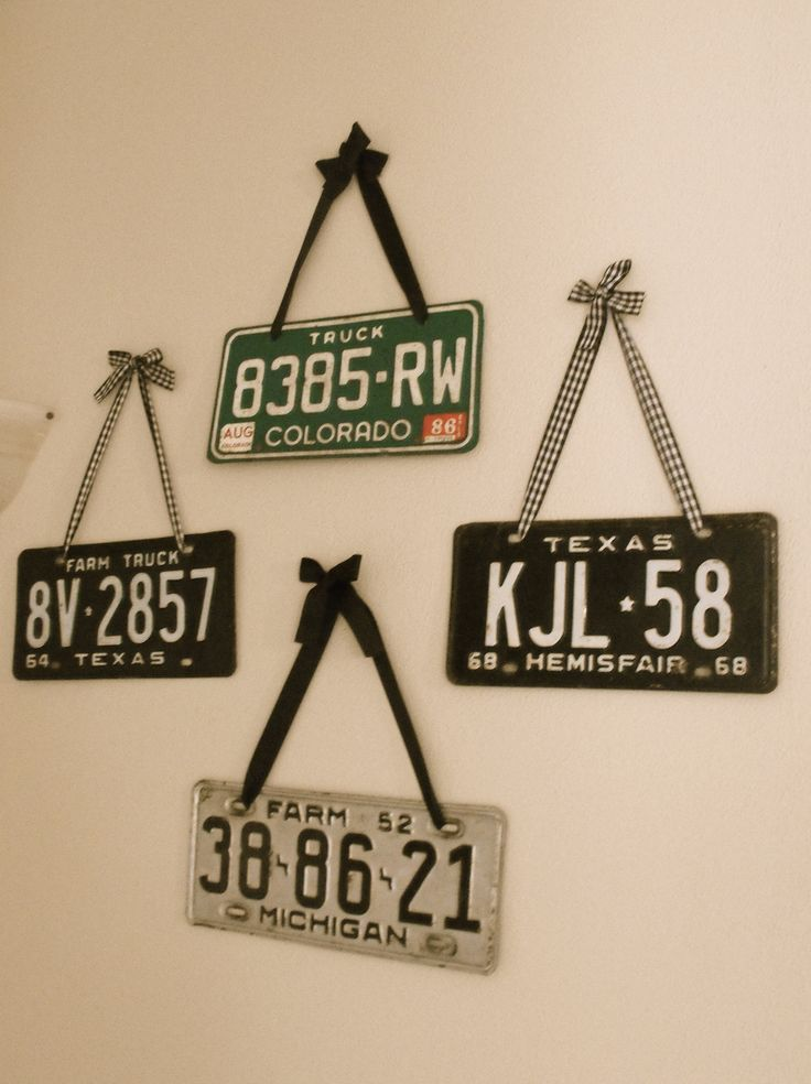 My License Plate Collection - 