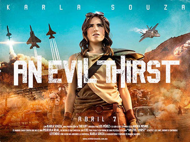 Lo que no sabías de 'An Evil Thrist', la nueva película de Karla Souza