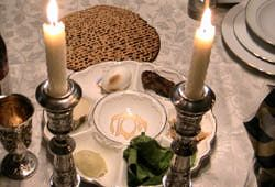 How to set the table for a Seder meal