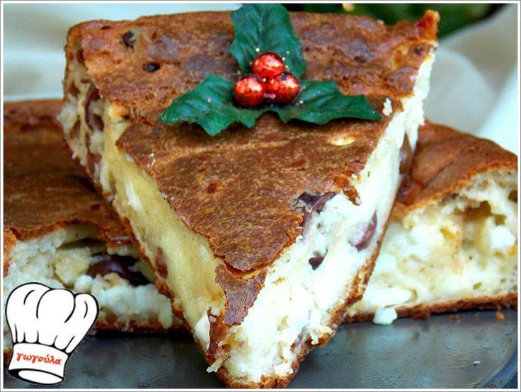 ΑΛΜΥΡΟ ΚΕΙΚ ΑΦΡΟΣ ΜΕ ΓΕΥΣΗ ΤΥΡΟΠΙΤΑΣ!!! | Νόστιμες Συνταγές της Γωγώς