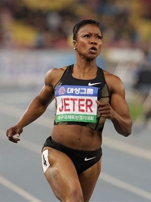 Carmelita Jeter.....Team USA....Runner