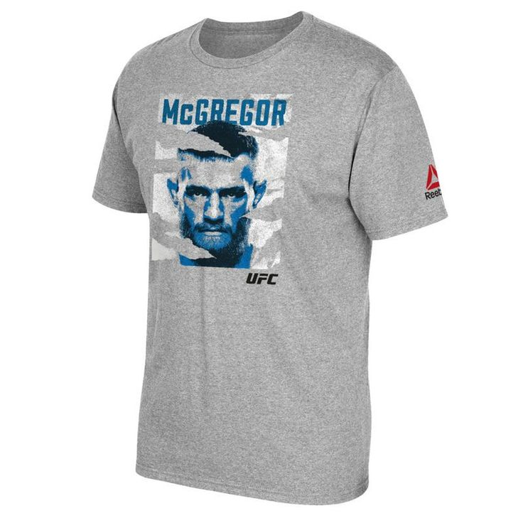 Conor McGregor Reebok Youth UFC 202 Poster T-Shirt - Gray
