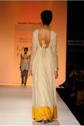 Payal Singhal Dresses Collection : SANEA LONG ANARKALI