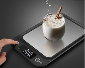 a balanza digital cocina bascula diseno 5 kg 1g de alta definicion led new