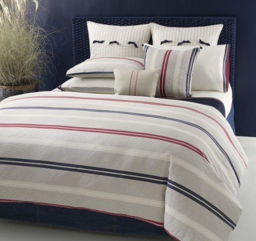 Captivating Tommy Hilfiger Bedding, Newport Bay Twin Duvet Cover And Sham Set