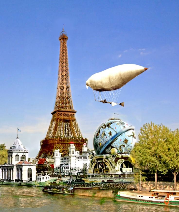 LE GLOBE CELESTE, PARIS, 1900