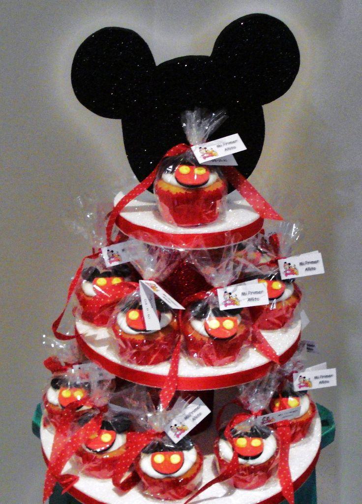 Mickey Cupcakes by Violeta Glace