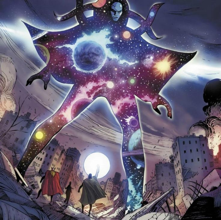 Eternity Eternity is Marvel's personification of time. In his absence, nothing can happen. He controls the consciousness of all living things, but is subservient to The Living Tribunal and dependent on Galactus.