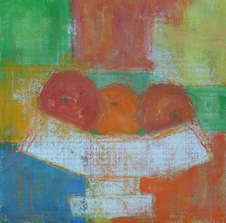 Artwork Oil on canvas Canvas Cloth and Bowl