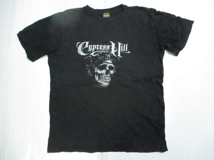 Vintage 90s Cypress Hill Band T-shirt Sz XL by OHCHYVINTAGE on Etsy