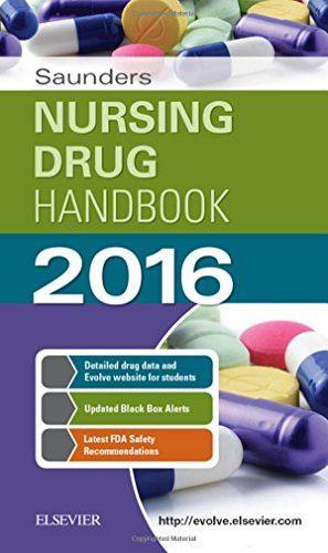Saunders Nursing Drug Handbook 2016, 1e