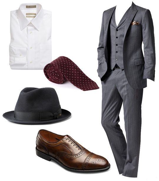 Mens fashion - male ensemble - More suits, style and fashion for men @ http://www.zeusfactor.com