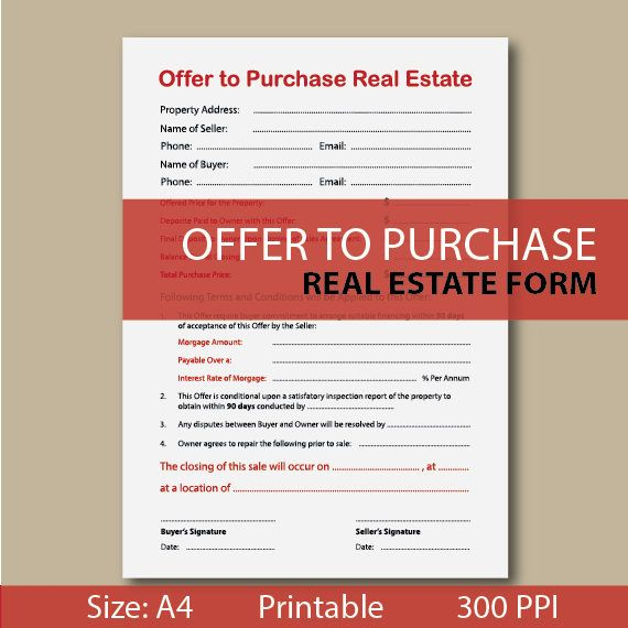 25+ parasta ideaa Pinterestissä Real estate forms Kiinteistövinkit - offer to purchase real estate form