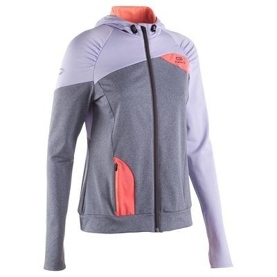Coupe vent Running, Trail, Athlétisme - VESTE CAPUCHE WARM ELIOPLAY KALENJI - Vêtements running