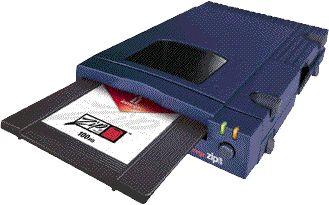 IoMega Zip Drives 25Mb to 100Mb disks. Circa mid 1990's