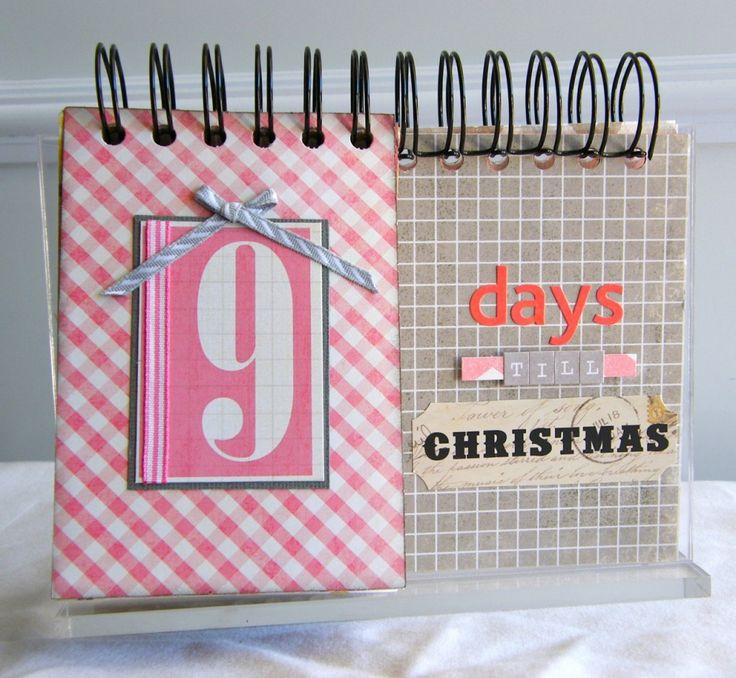 Christmas Countdown Calendar from a $1 pic frame