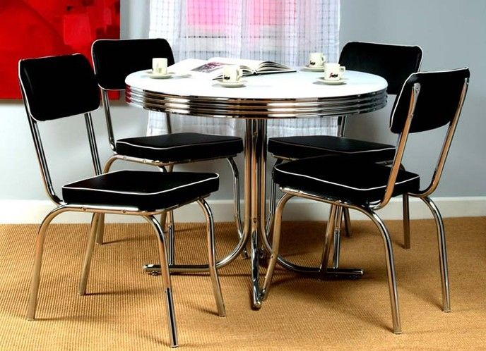 dining sets retro dining table kitchen table chairs white dining set