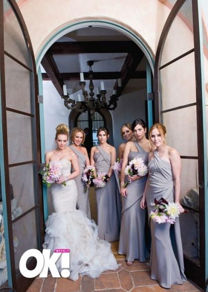 Hilary Duff Wedding Dress Color, Hilary Duff weds in a fabulous ...