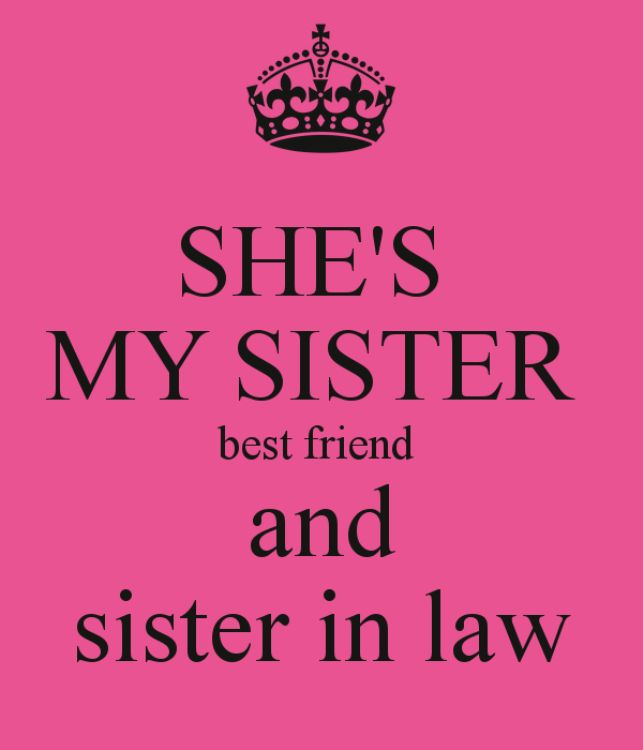 Sister in law quotes on the National Sisters day 2016