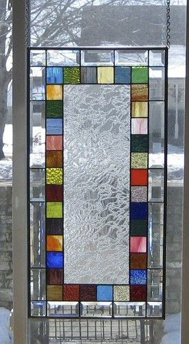 Scintillating Stained Glass Window Panel EBSQ Artist | eBay