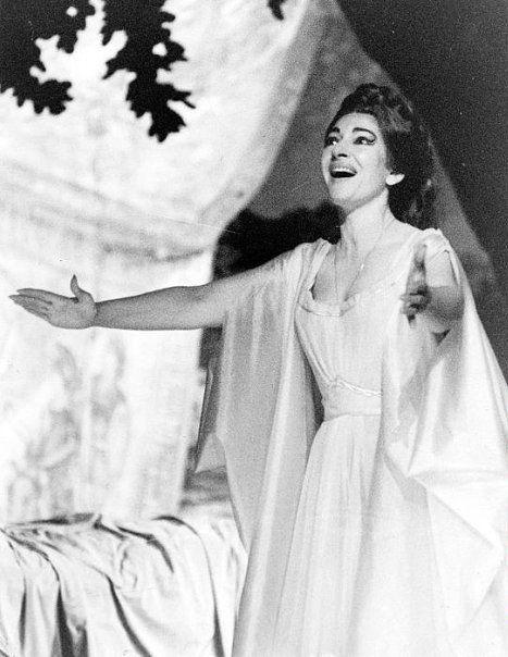 Maria Callas in Norma, 1965.