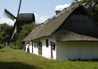 Hus fra Tåsenge - Frilandsmuseet - Nationalmuseet