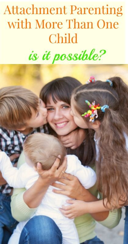 Attachment Parenting More Than One Child?  It's possible!  {attachment parenting, parenting, motherhood, parents, children, parenting tips, gentle parenting, positive parenting}