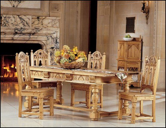 Decorating Theme Bedrooms   Maries Manor: Medieval Knights U0026 Dragons  Decorating Ideas · Pine Dining TableDining ...