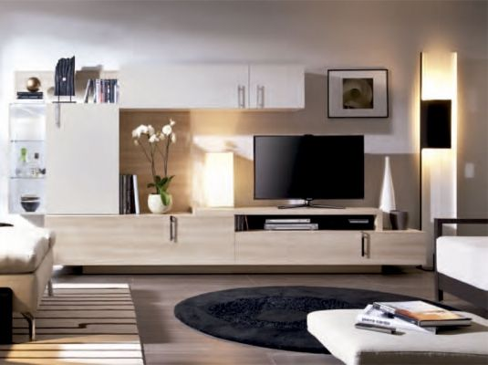 11 best salones modernos xl images on pinterest modern - Muebles de tv modernos ...