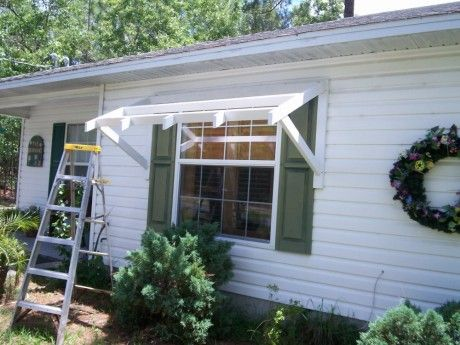 Yawning Over Your Awning Diy Awnings On The Cheap Home