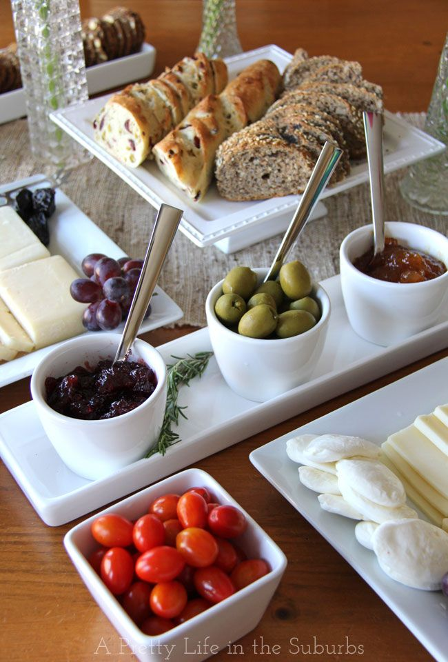 Throwing a Summer Wine  Cheese Party! Tips for putting together cheese plates for your next get together. #CDNCheese #simplepleasures