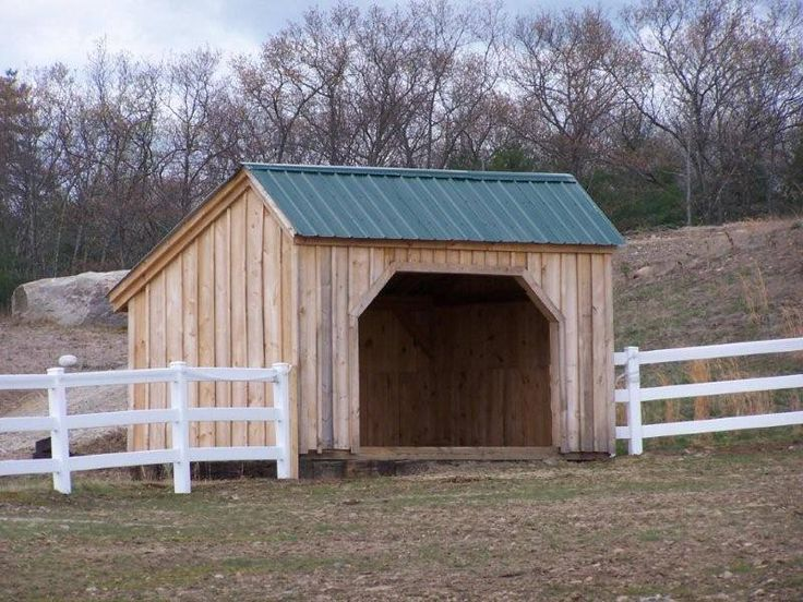 Diy Atv Shelter : Run in available as kits people hours plans
