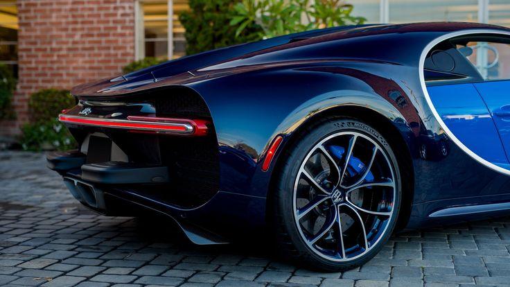 2018 Bugatti Chiron presented as Lot S98 at Pomona, CA