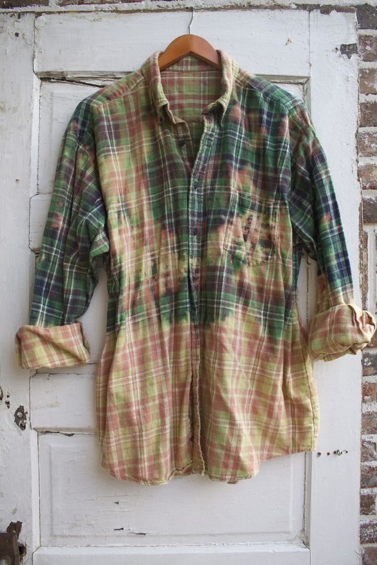 Retro flannel shirts   best shirt redos images on Pinterest  Hand crafts Recycling