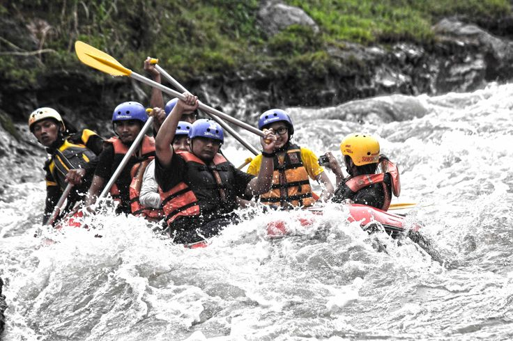 rafting at soko river ,blitar,East java,Indonesia